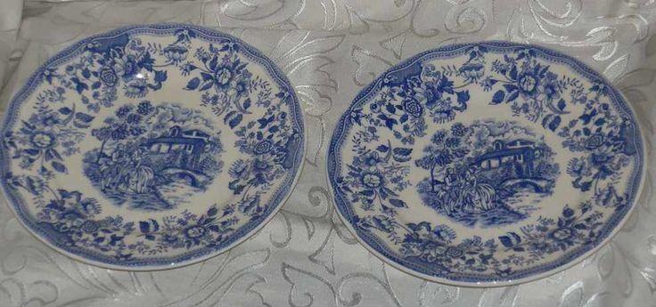 Duży+porcelanowy+włoski+talerz