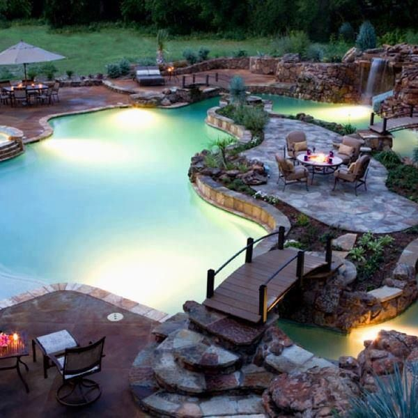 When I win the lottery, I'm gonna design a killer pool!