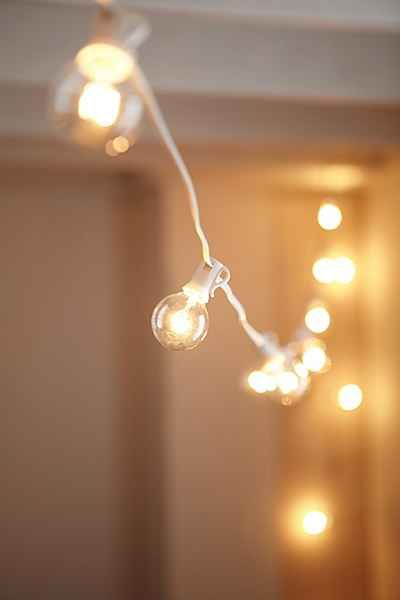 White String Garden Lights : Best 25+ White string lights ideas on Pinterest String lights dorm, Room lights decor and ...