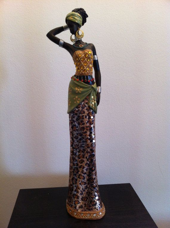 African Statue African Art African Woman Tanzania by phantomas2011, $89.99