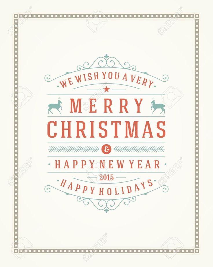 best 25+ weihnachten vektor ideas on pinterest | freie vektor, Einladungen