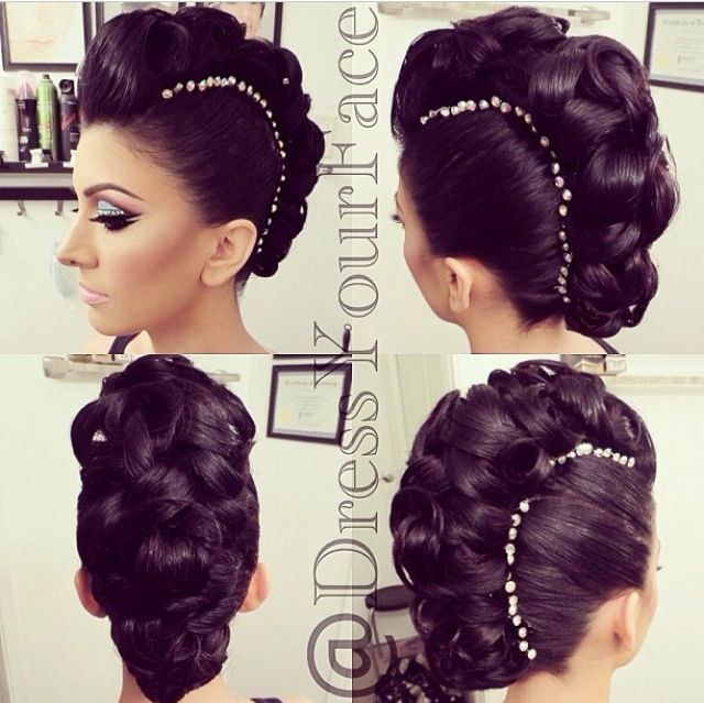 25 trending banana clip hairstyles ideas on pinterest banana amazing mohawk updo love this brings me back to the days of banana clips pmusecretfo Choice Image