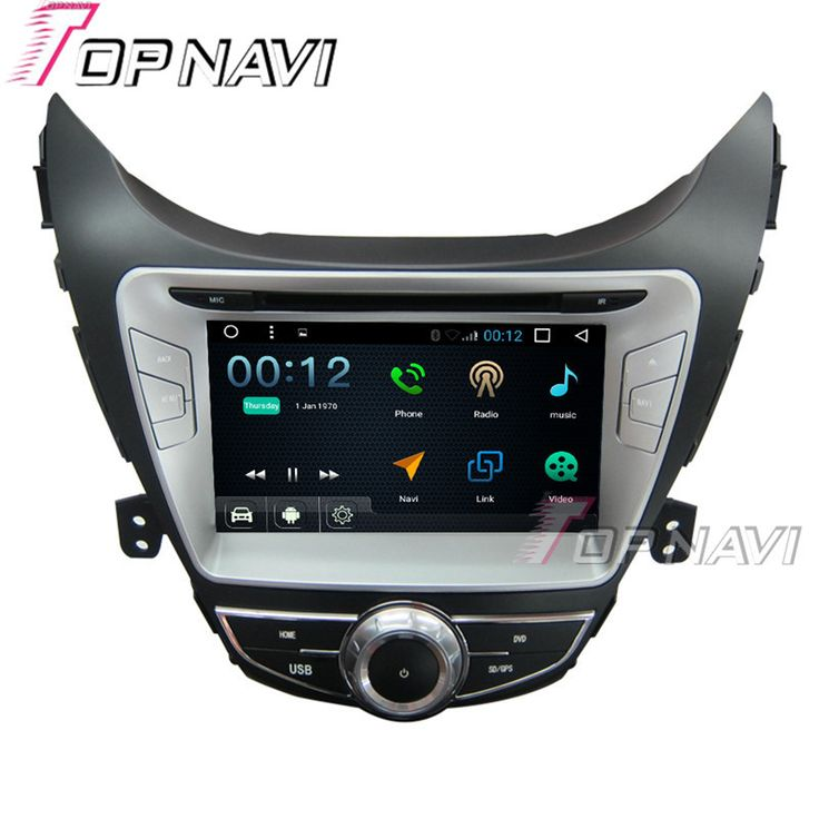 8 inch Quad Core 16G Android 6.0 Car Radio Stereo for Hyundai Elantra 2012 Auto Multimedia GPS Navigation Video Car DVD Player