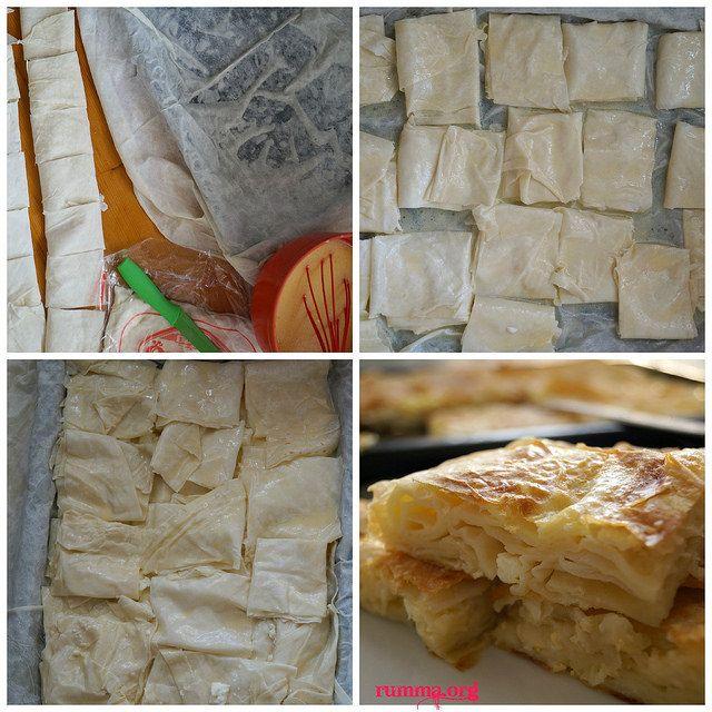 Hazır yufkadan kolay su böreği tarifi - rumma