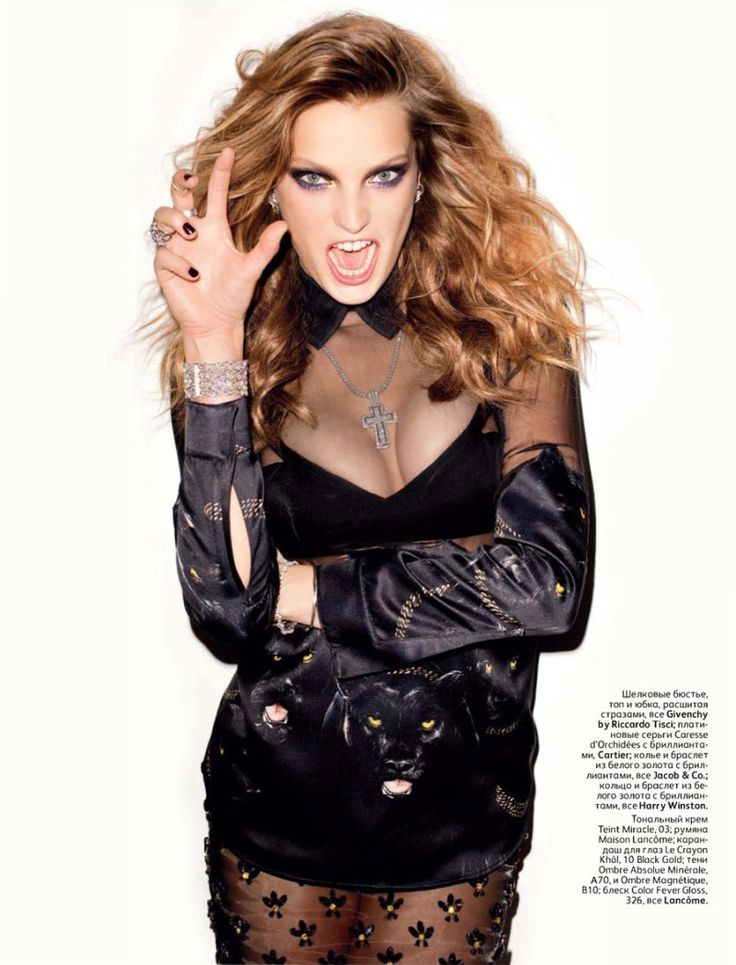 Vogue Russia, October 2011  Photographer: Terry Richardson  Model: Daria Werbowy