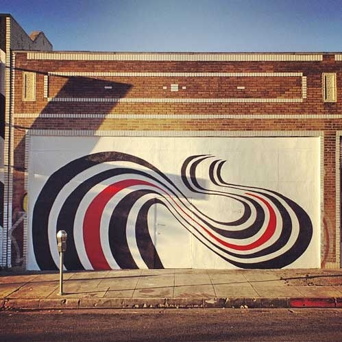 Mural in silver lake neighborhood in la made famous as for Elliott smith mural