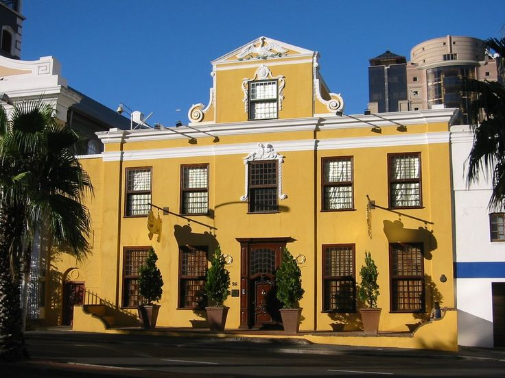 Martin Melck House (Old Lutheran Parsonage) built 1781, Stand Street, cape Town. Now houses the Gold Museum.