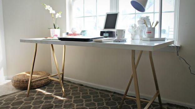 Ikea hack: een elegant bureau voor minder dan 40 euro