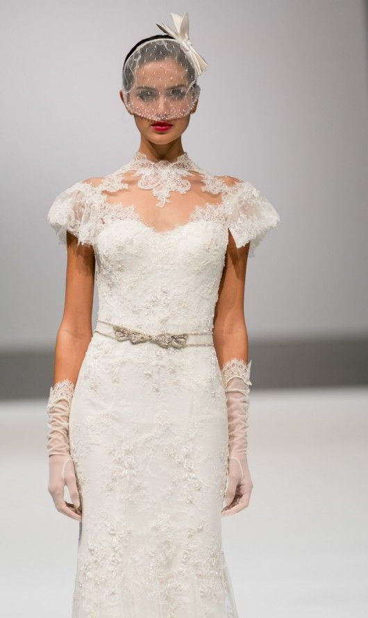 Lusan Mandongus Spring 2014 photo Si Sposaitalia. Are you a South African company that wants to exhibit your wedding wear and accessories at Sposa Italia Expo? Contact Export Pavilion Promotions! +27 12 771 8510 or admin@expavpro.co.za #sposaitaliacollezioni #exportpavilionpromotions #weddingwear #weddingaccessories #growyourbusiness #expandmarkets #internationalmarkets #weddingcollection #weddings #eveningwear #eveningaccessories