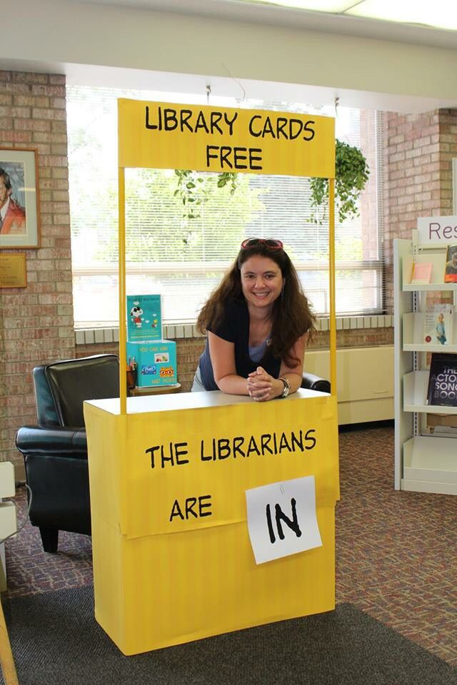 National Library Card Month. Would be awesome for outreach