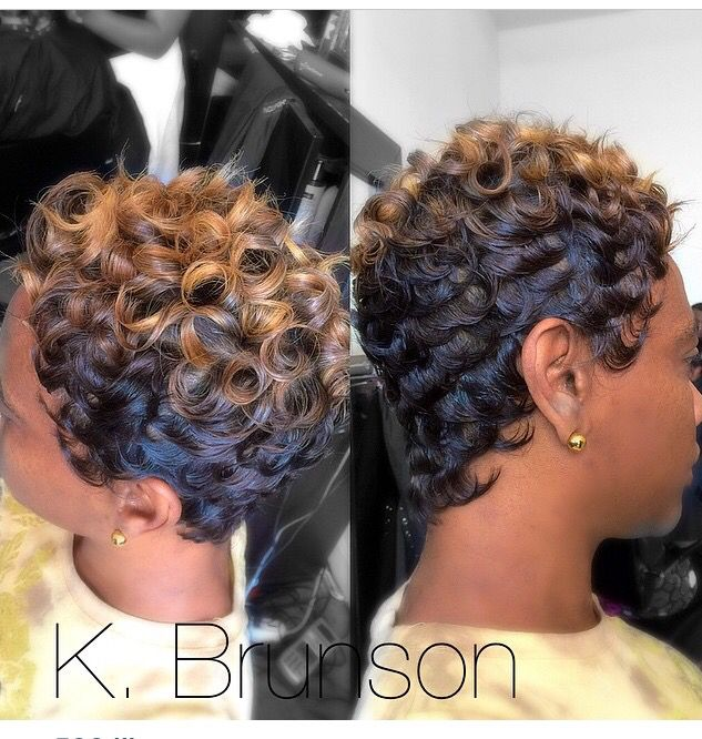 Pleasant 1000 Images About Pincurls And Fingerwaves On Pinterest Finger Hairstyle Inspiration Daily Dogsangcom