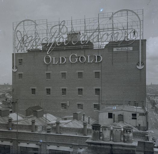 The MacRobertson's Old Gold confectionery factory, Fitzroy, ca. 1925. Royal Historical Society of Victoria Melbourne Australia