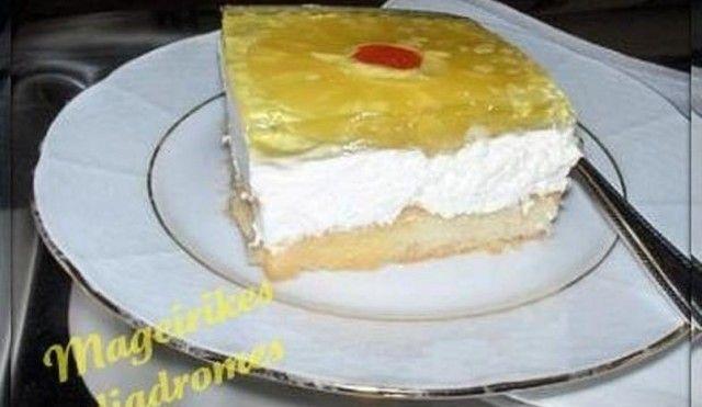 Γλυκό ψυγείου με ανανά από την Τζένη και τις «Μαγειρικές Διαδρομές»!.