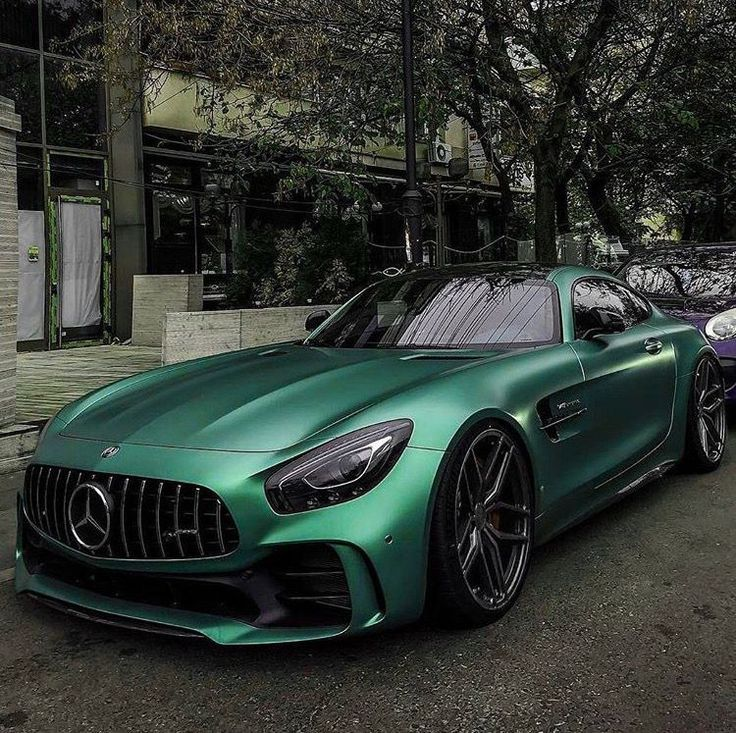 Love the color! Mercedes GT
