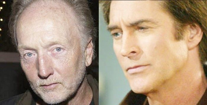 Tobin Bell (best known as Jigsaw in SAW movies) as ALAMAIN..father to John Black (Drake Hogestyn) on Days of Our Lives