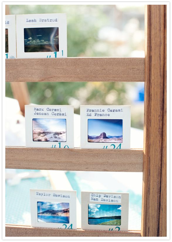 Maybe with pictures of the beaches?: Escort Cards, Escort Seats Places Cards, Tables Cards, Escort Food, Film Sliding, Wedding Reception, Tables Numbers, Seats Cards, Sliding Escort