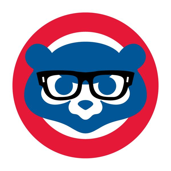 Image result for cubs logo with glasses