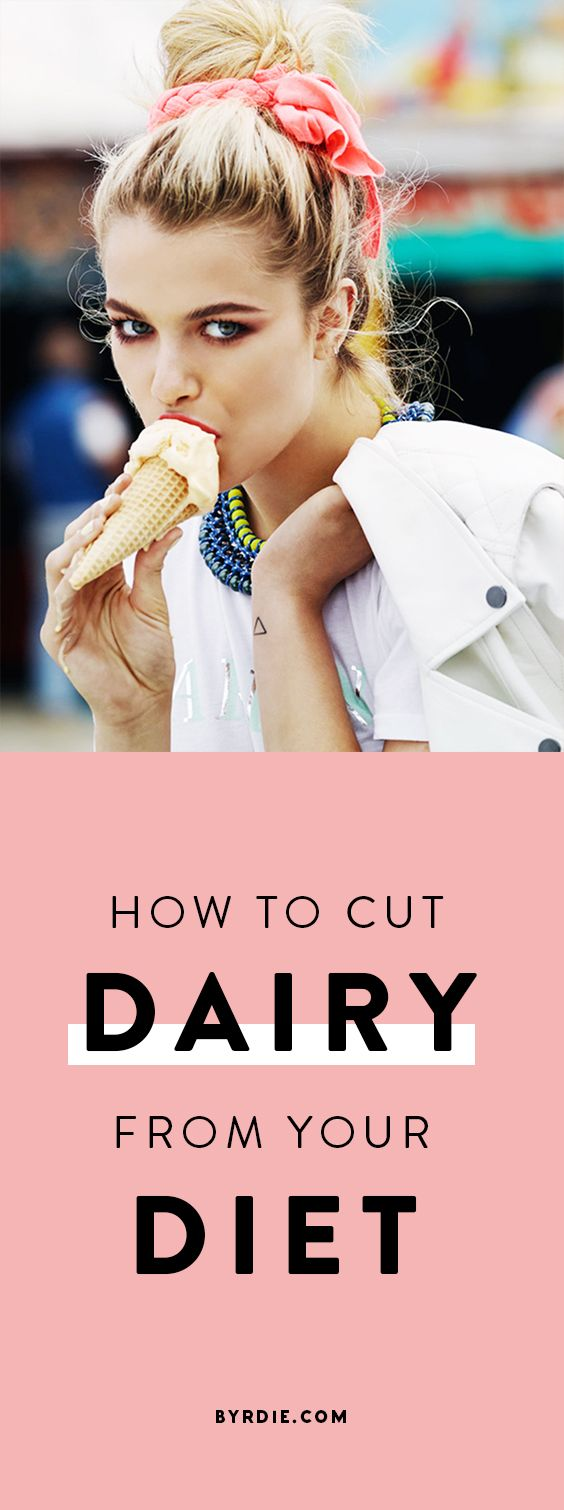 How to stop eating dairy