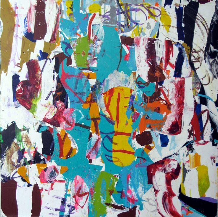 "Saatchi Art Artist: robert tavani; Acrylic 2013 Painting ""Heavy, Brother"""