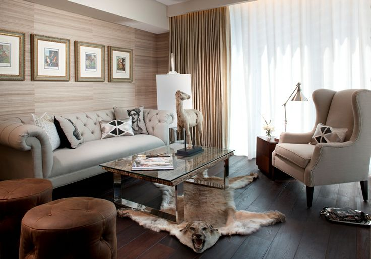 RS3 Designs | Interior Design | Miami | Study | Office | Furniture | Lighting | Drapery | Window Treatments | Wood Floors | Wallpaper | Rug | Decor | Accessories http://www.bykoket.com/news/category/interior-design