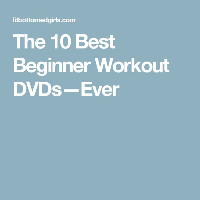 The 10 Best Beginner Workout DVDs—Ever