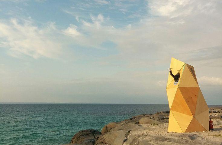 emmett mcnamaras sauna offers atlantic views from a comfy seat