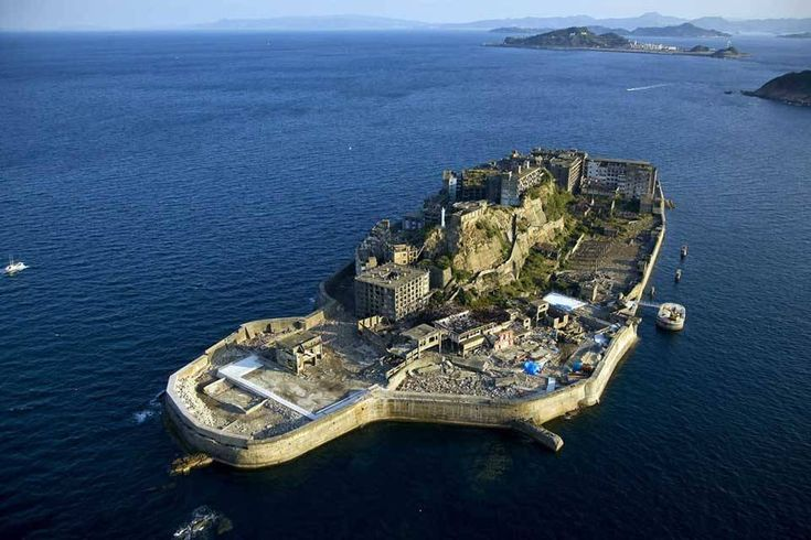 Hashima Island Japan. What an unusual place to live