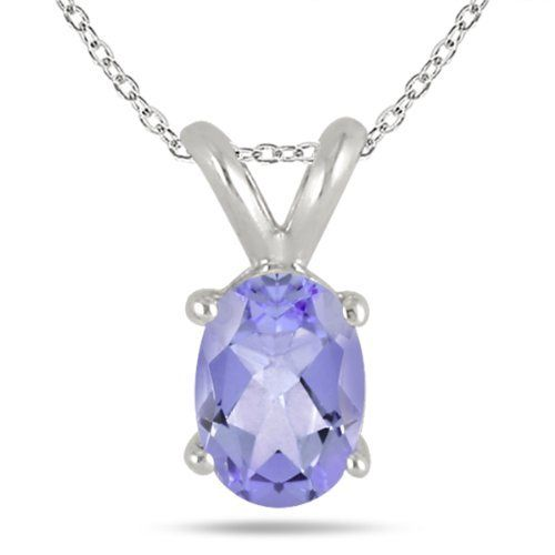 All-Natural Genuine 6x4 mm, Oval Tanzanite pendant set in Platinum Szul. $729.00. 60 Day Complimentary Repair Service. Complimentary Packaging. 30 Day Money Back Guarantee