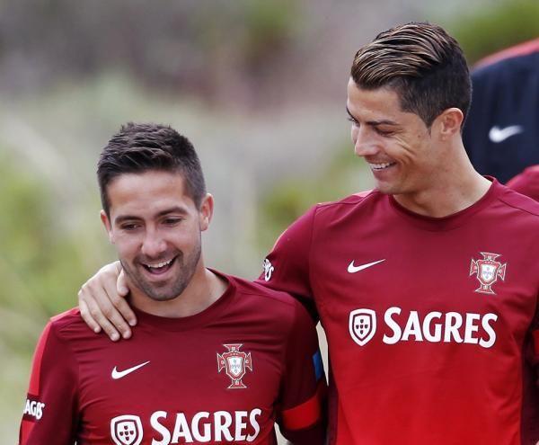 Ronaldo and Moutinho #portugal