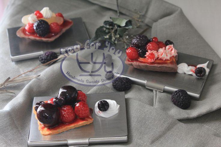 https://www.instagram.com/teaforyout/ https://twitter.com/TeaForYouT  #スイーツデコ #フェイクスイーツ #フェイクフード #粘土 #ハンドメイド #手作り #スイーツ #デザート #タルト #チェリータルト #フルーツ #イベント #SweetsDecoration #FakeSweets #FakeFood #Handmade #Crafting #Clay #Clayart #Sweets #Dessert #Tart #Cherrytart #Fruit