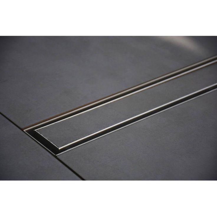 100 cm modèle à carreler - Caniveau de Douche Italienne Inox - Plomberie sanitaire chauffage