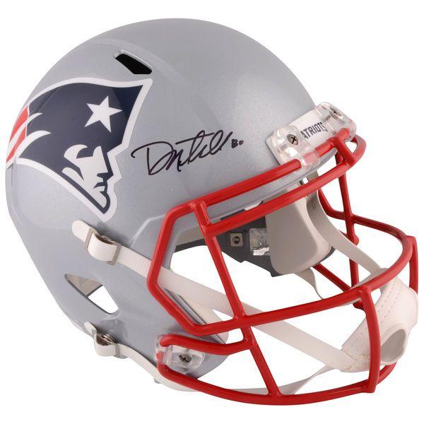Danny Amendola New England Patriots Fanatics Authentic Autographed Riddell Super Bowl LI Champions Speed Replica Helmet - $329.99