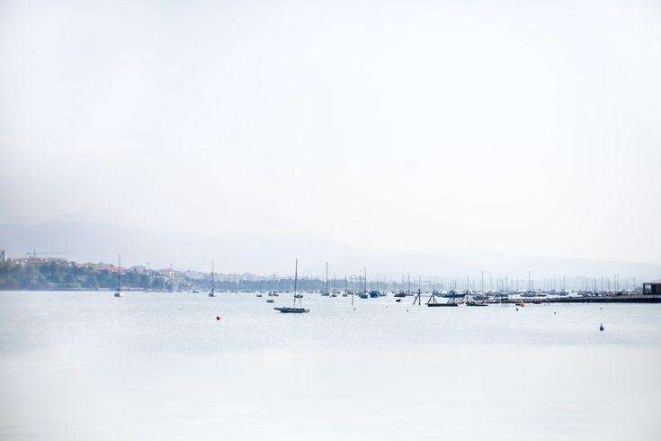 Vue sur la baie de Txingudi à Hendaye. Endroit idéal pour des balades, moments de détente etc... #hendaye #paysbasque