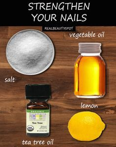 Strengthen nails naturally