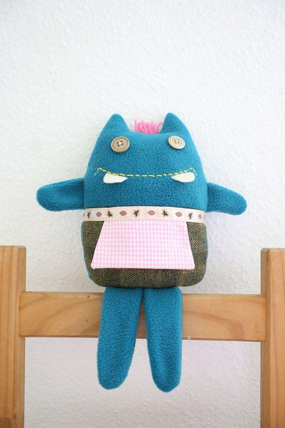 Toy Plush Carmela by HappyMonstersLand on Etsy, $28.00