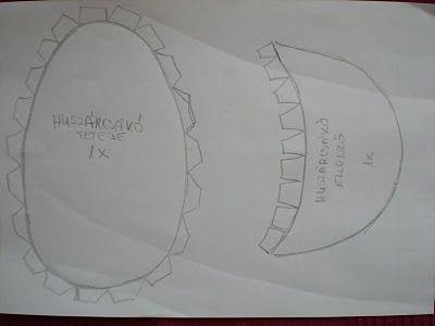 Amaranta kreatív világa: Huszárcsákó papírból, március 15-re