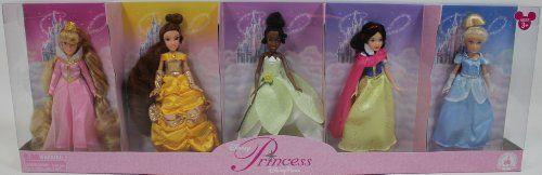 Disney Princess Doll Set * Sleeping Beauty * Belle * Tiana * Snow White * Cinderella * – Disney Parks Exclusive & Limited Availability « WooHooYeah