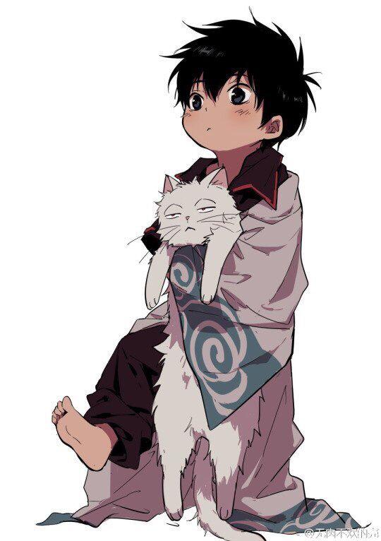 Tags: Gintama, Sakata Gintoki, Hijikata Toushirou, cute
