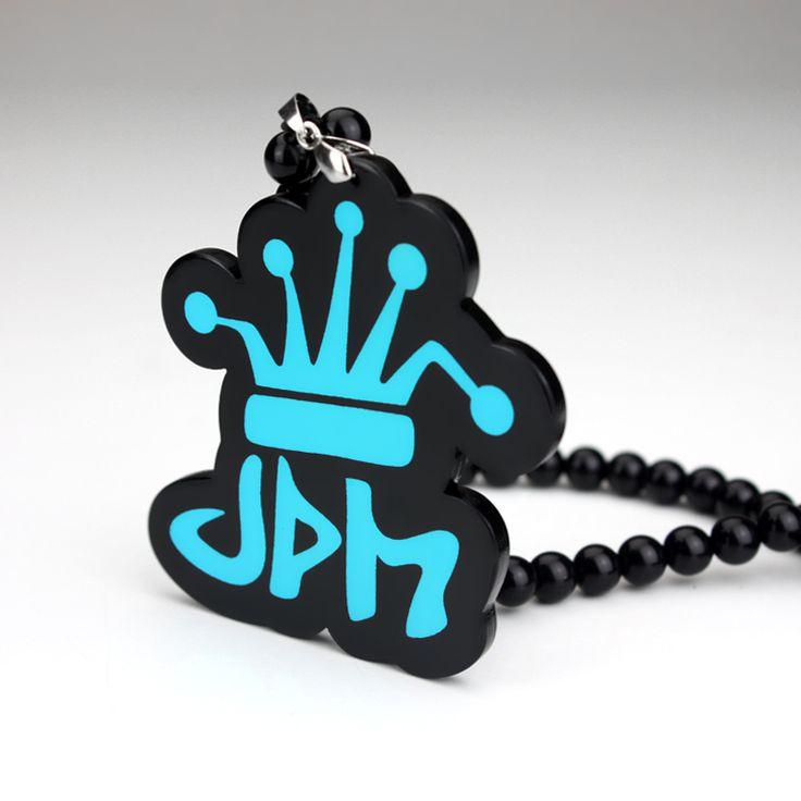 Jdm корона хо авто мода кулон логотип Hellaflush зеркало заднего вида орнамент повешение мотаться шарм акриловые дуплекс автомобиля - стайлинг