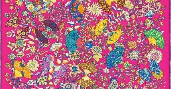 La Maison des Carrés Hermès | Fleurs et Papillons de Tissus #rose #html #papillons