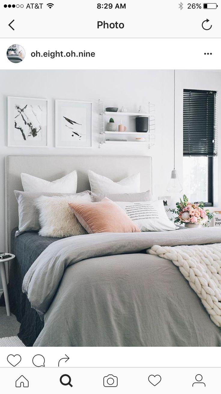 Simple and elegance scandinavian bedroom designs trends