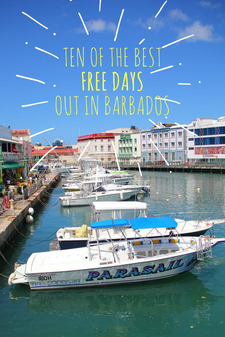 Ten Of The Best Free Days Out In Barbados. We like free :)