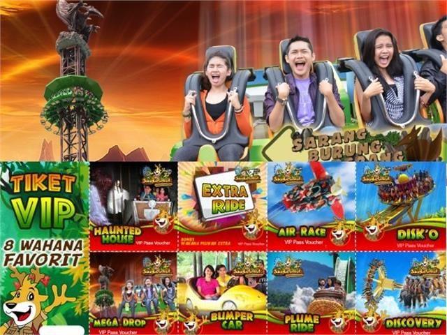 VIP Access Hi Season Entrance Ticket to JungleLand. Find at https://bingkis.co.id/gift/detail/vip-access-hi-season-entrance-ticket-to-jungleland-1181