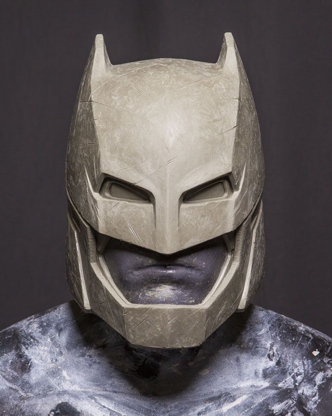 Batman helmet, from Batman vs Superman #DCcomics #Batman