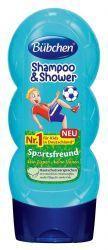 Бюбхен шампунь для волос и тела Юный спортсмен 230мл  — 217р. -- Шампунь для мытья волос и тела «Юный спортсмен»   Для нежного очищения волос и кожи. С бодрящим запахом свежести. Идеален после занятий спортом. Совмещает в себе шампунь для мытья волос и гель для тела. Мягко удаляет загрязнения, питает волосы и кожу. Укрепляет волосы, облегчает их расчесывание и придает естественный шелковистый блеск. «Без слез». Для детей с 3-х лет и всей семьи.     Флакон 230 мл.     Преимущества  без…