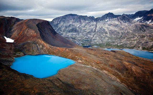 Torngat Mountains - Windex Lake, Newfoundland, Canada