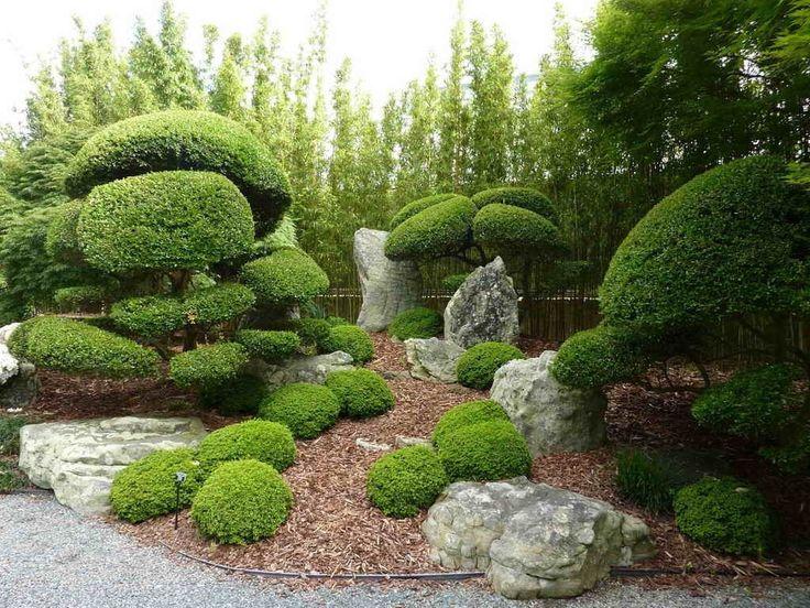 ландшафтный дизайн сада. Garden. Japanese Garden. Ogród japoński.