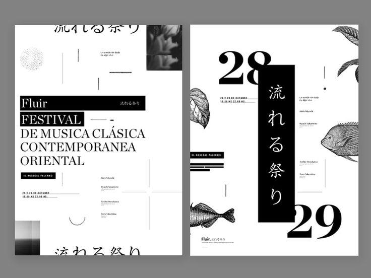 Contemporary classical music festival Poster