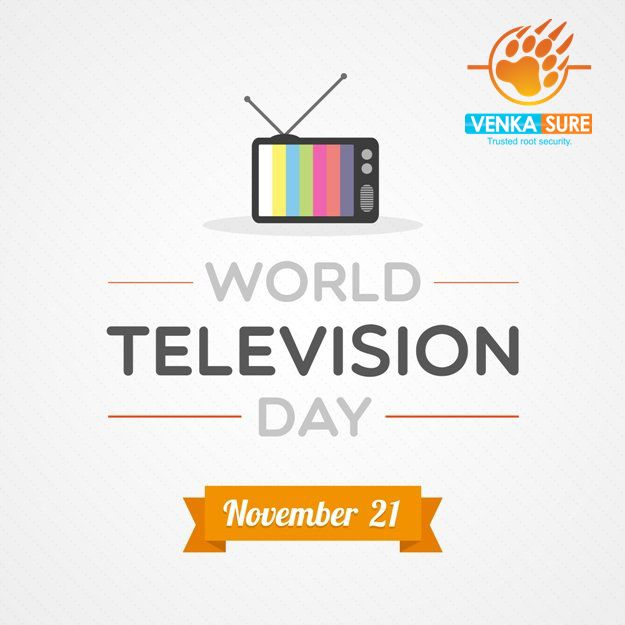 Happy World Television Day.....!!!!