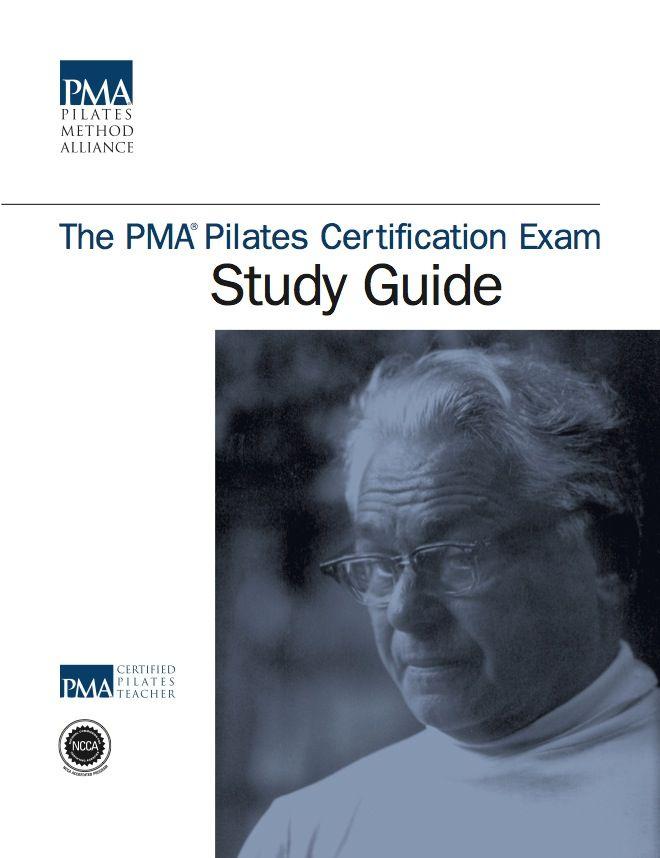 PMA Pilates Certification Exam Study Guide / Pilates Method Alliance Shop